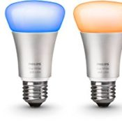 Philips Hue LED Lampe E27 Starter Set inklusive Bridge