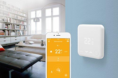 tado Smartes Thermostat Starter Kit für Wohnungen mit Raumthermostat V3