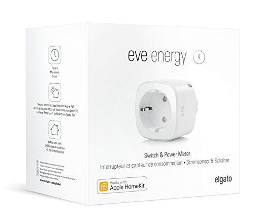Elgato Eve Energy - HomeKit Funksteckdose - Bluetooth Low Energy