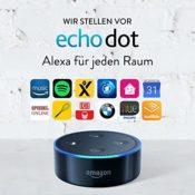 Amazon Echo Dot 2-te Generation, Schwarz
