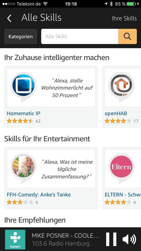 Alexa App Skills