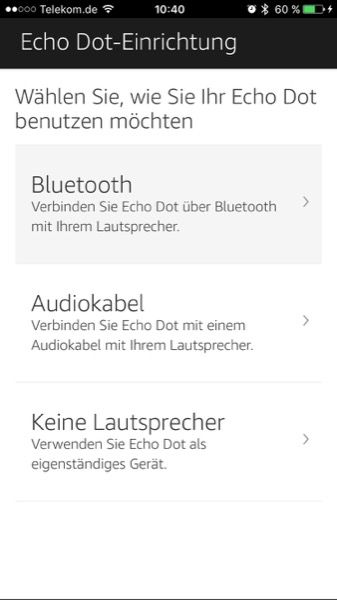 Hier kannst du deine evtl. vorhandene Lautsprecher verbinden.