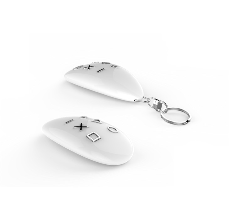 KeyFob Z-Wave Fernbedienung von Fibaro