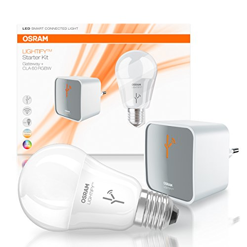 OSRAM LIGHTIFY Starter Set, Kompatibel mit Alexa