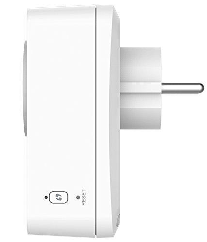 D-Link DSP-W215 mydlink Home Smart Plug von der Seite