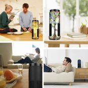 Amazon Echo Premium Kunstleder Schutzhülle von Fintie
