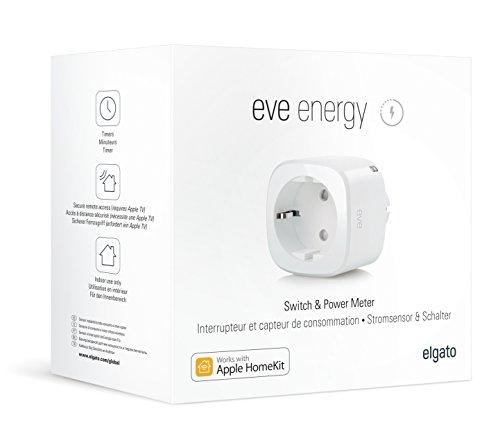 Elgato Eve Energy - HomeKit Funksteckdose - Bluetooth Low Energy