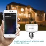 Koogeek Smart Socket, E27 Lampenfassung Adapter, mit HomeKit Kompatibilität