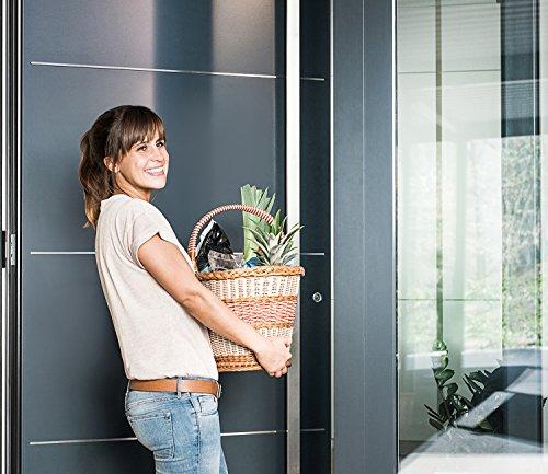 Nuki Smart Lock - Elektronisches Türschloss mit Bluetooth - Automatisches Öffnen der Tür per Smartphone