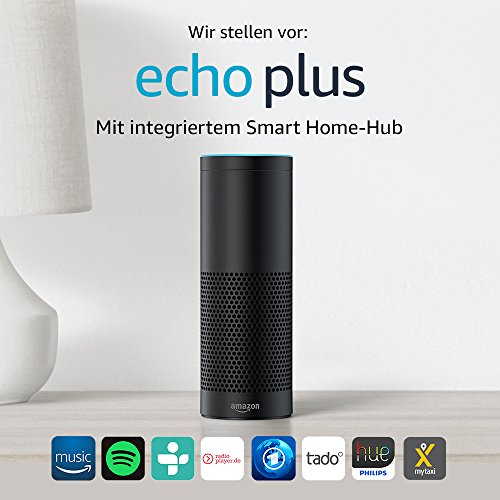 Echo Plus – Mit integriertem Smart Home-Hub
