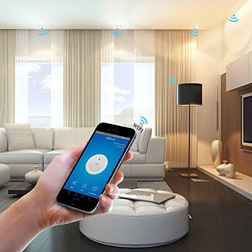 WLAN Lichtschalter per iOS oder Android App steuern