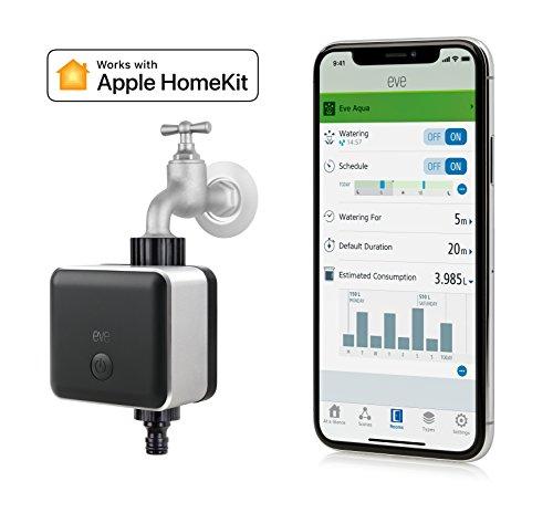 Eve Aqua – Smarte Apple HomeKit kompatible Bewässerungssteuerung
