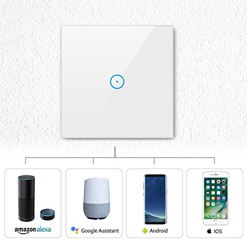 WLAN Lichtschalter KOAANW für iOS und Android