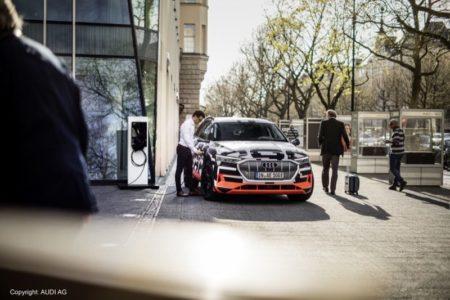 SMA Solar Technology AG und Audi e-tron HMES Kooperation
