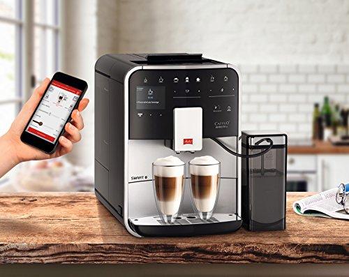 Melitta Caffeo Barista TS Smart F850-101 Kaffeevollautomat mit Milchbehälter