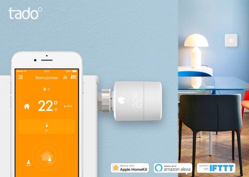 Smartes Heizkörper-Thermostat tado°