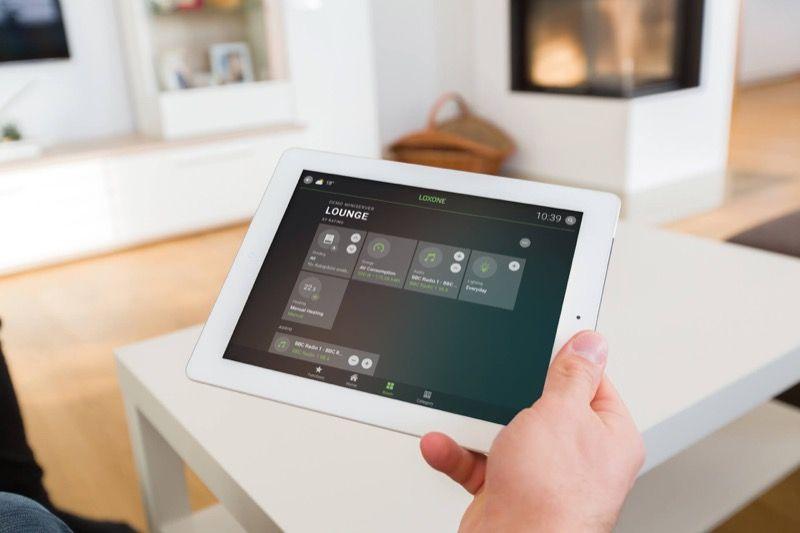 Die Smart Home App von Loxon