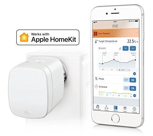 Eve Thermo – Heizkörper-Thermostat mit Apple HomeKit