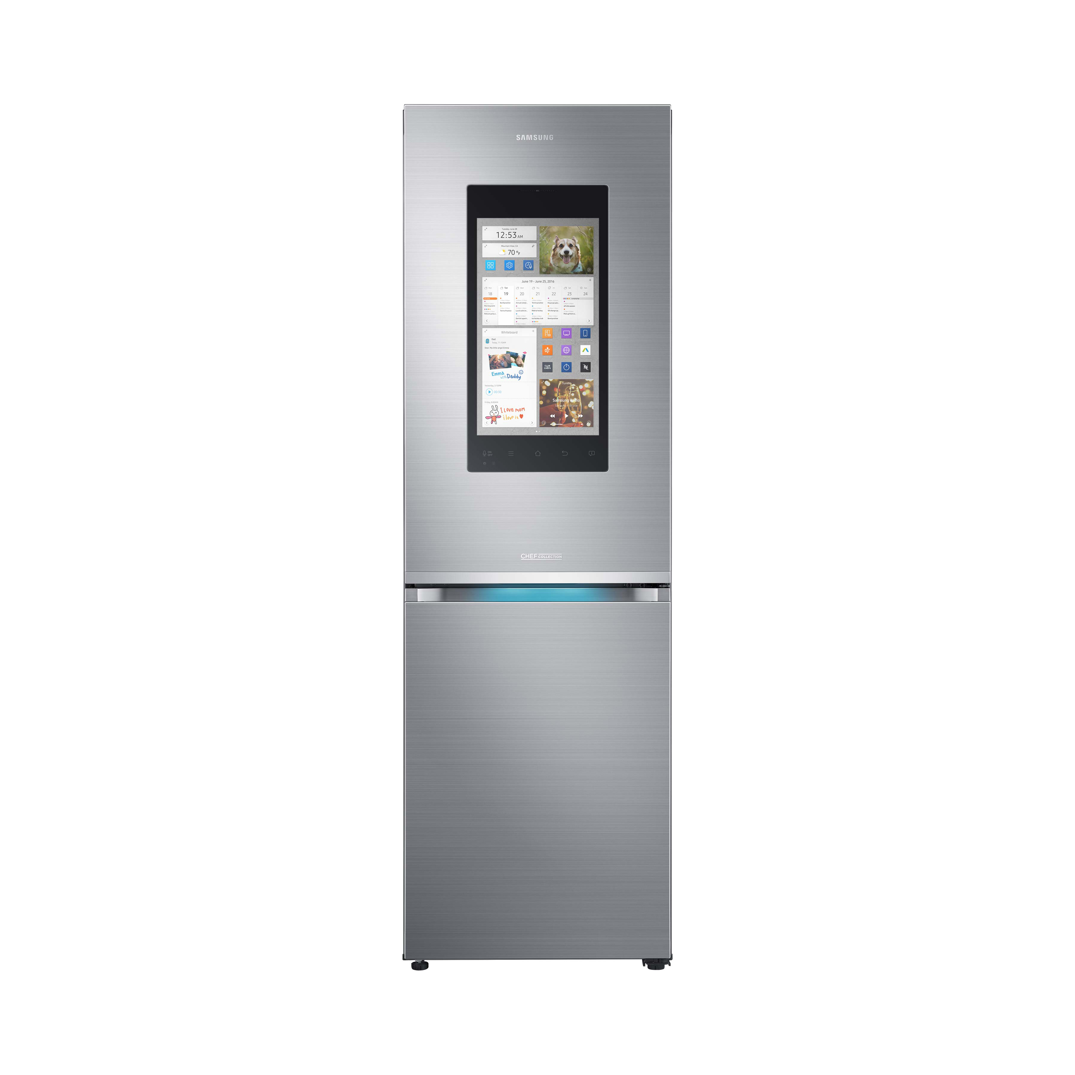 Samsung Smarter Kühlschrank | RB38M7998S4