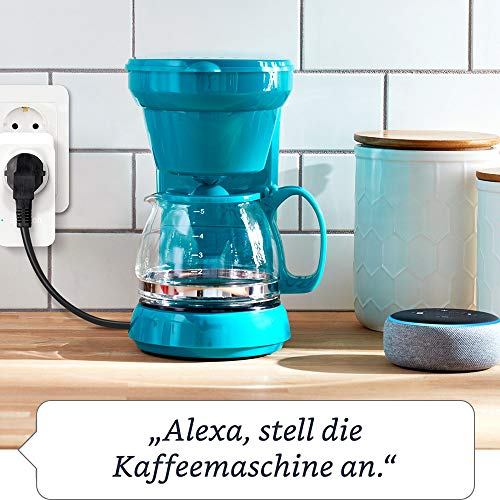 Amazon Smart Plug (WLAN-Steckdose), Funktionert mit Alexa