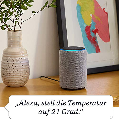 Amazon Echo Plus - Der zweiten Generation, mit Premiumklang und integriertem Smart Home-Hub