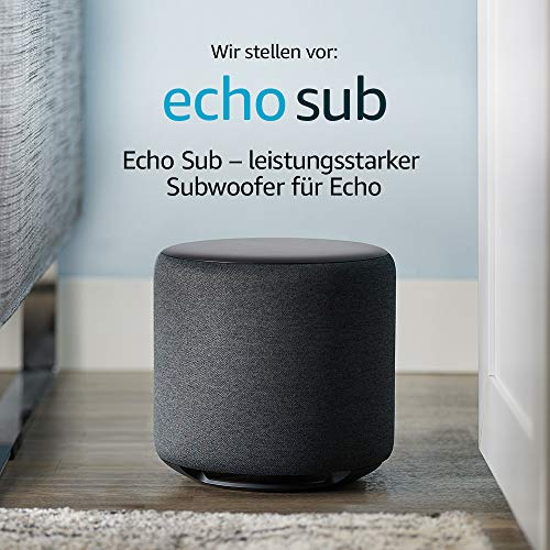 Echo Sub - Neuer Downfire-Subwoofer von Amazon