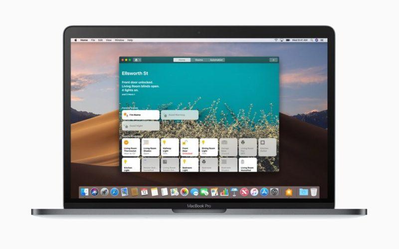 Apple HomeKit macOS Mojave Home-App