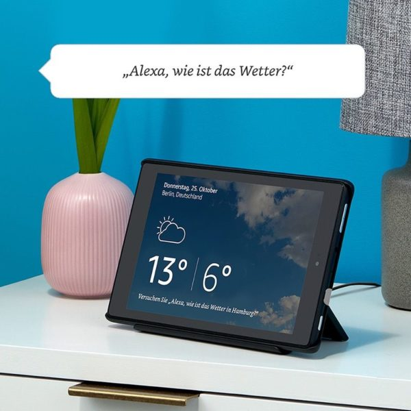 Das neue Fire HD 8 Tablet - Alexa Hands-free - Show-Dock