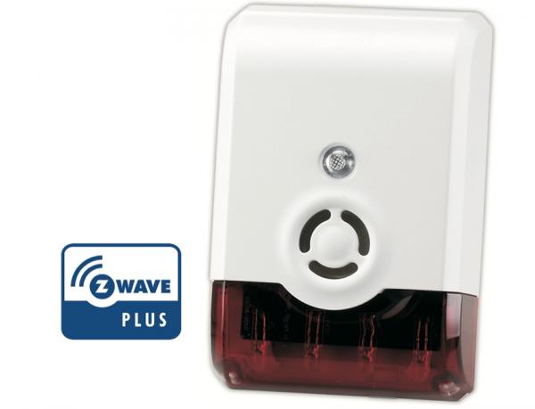 Vision Security Sirene Z-Wave – GEN5 – Batteriebetrieb
