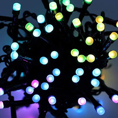 twinkly-led-weihnachtsbaum-lichterkette per App steuern