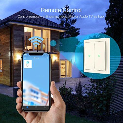 Koogeek HomeKit WLAN Lichtschalter - Steuerbar per Siri