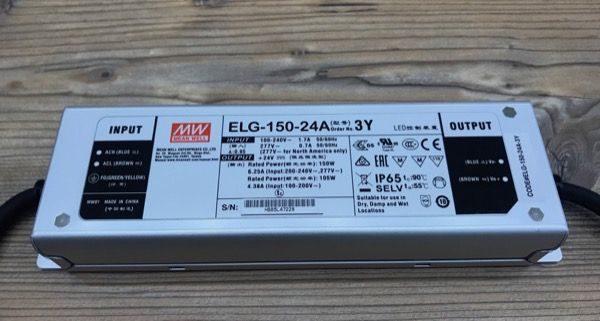 Das Mean Well ELG 150 LED Netzteil - Die Powerzentrale