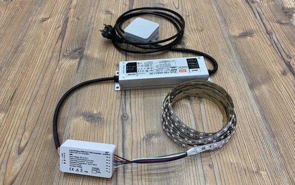 LED Trading Lichtband im Test-Der Lieferumfang