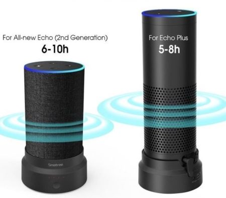 Powerbank für Amazon Echo & Echo Plus