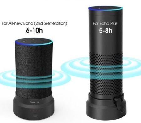 Powerbank für Amazon Echo & Echo Plus