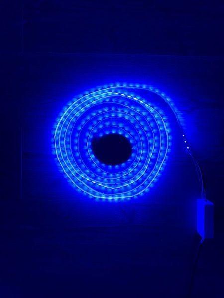 RGB+CCT LED-Lichtband-Farbe Blau 20 Prozent Helligkeit