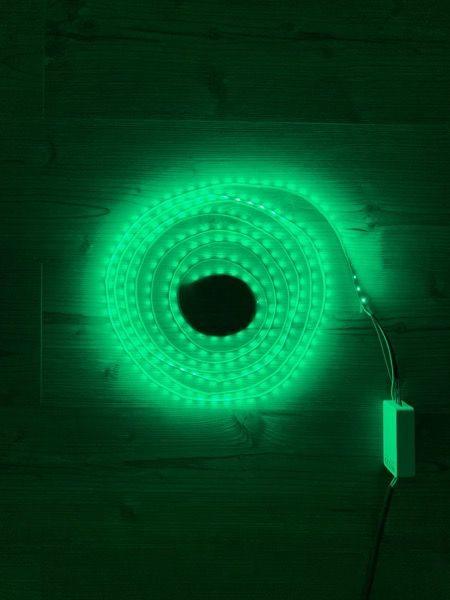 RGB+CCT LED-Lichtband-Farbe Grün 20 Prozent Helligkeit