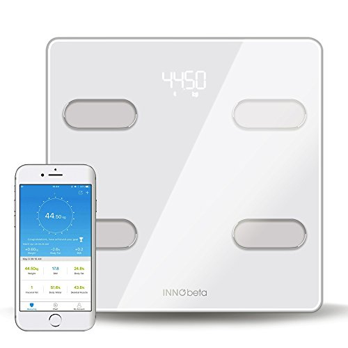 InnoBeta Bluetooth Körperfettwaage mit App