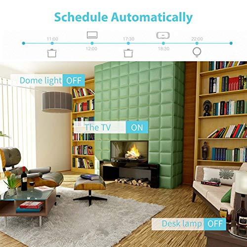 Meross smarter WLAN - Lichtschalter, kompatibel mit IFTTT
