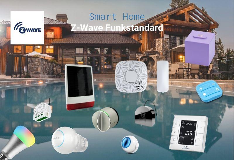 Z-Wave Funkstandard und kompatible Geräte, Systeme, Zentralen