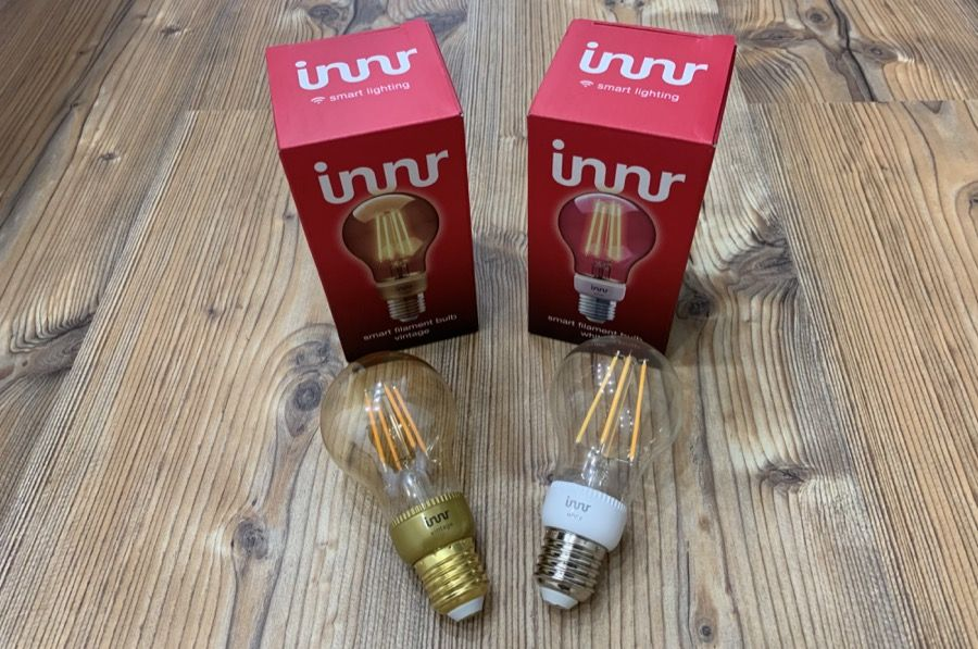 Innr Filament Vintage und White LED Lampe im Test