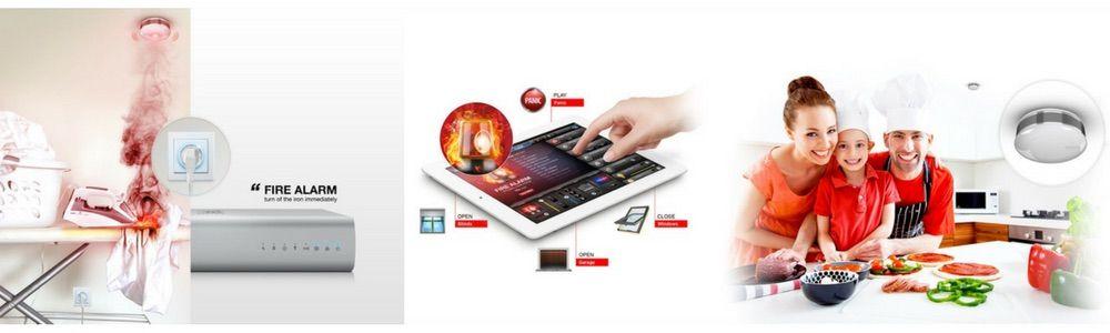Fibaro Smart Home System im Beispiel mit einem smarten Z-Wave Zwischenstecker-Schalter und Z-Wave Rauchmelder