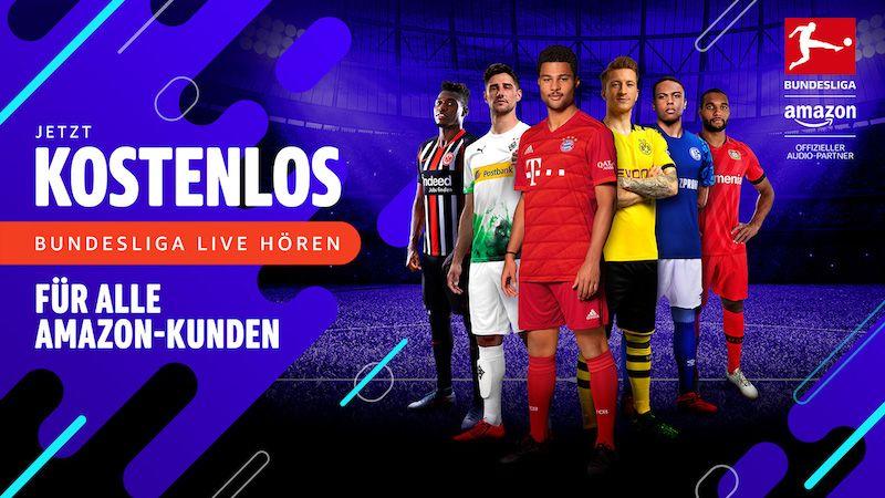 Du Kannst mit Alexa Bundesliga, DFB-Pokal, Champions-League Live hören
