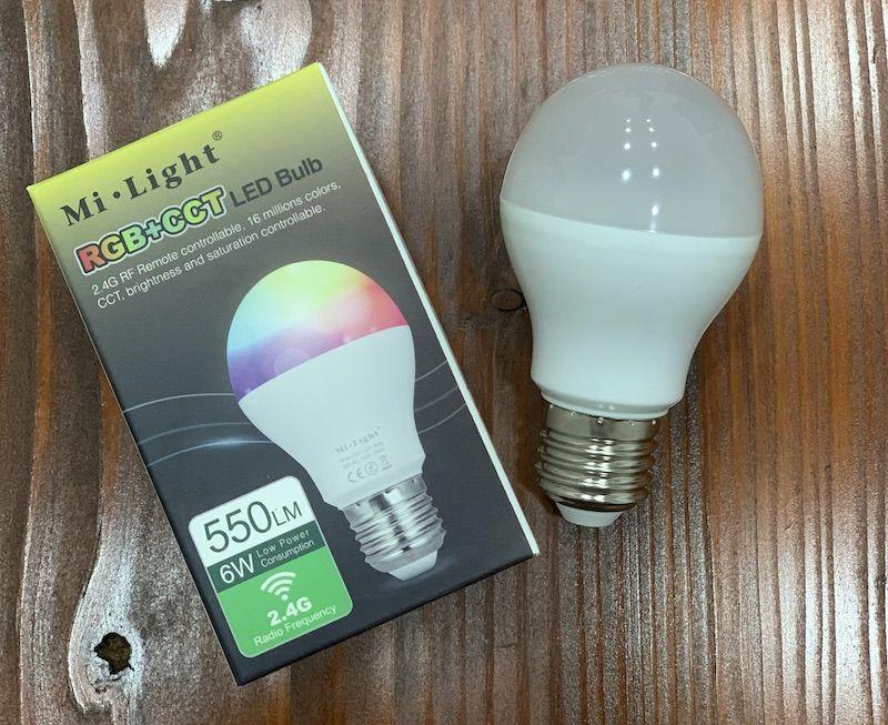 MiLight-MiBoxer E27 LED-Lampe mit ZigBee RF Bridge koppeln