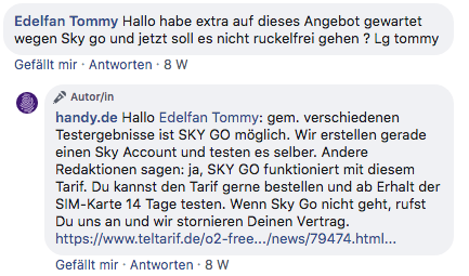 Infos zum handy.de No Limit Tarif