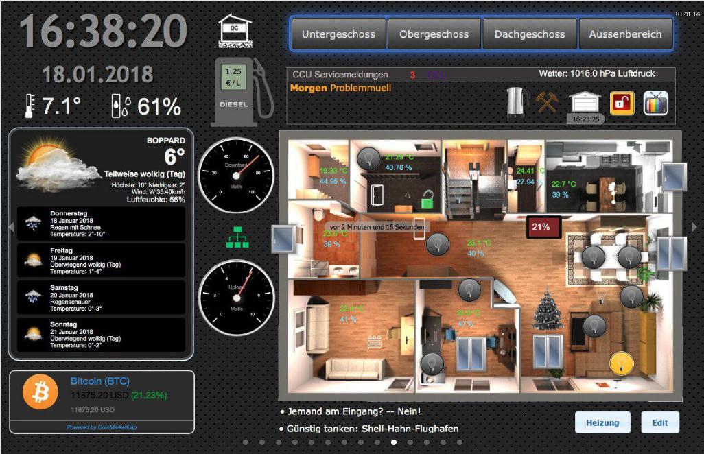 Mit ioBroker zum DIY Smart Home