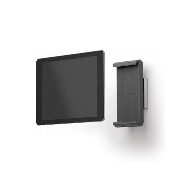 Abschliessbare Durable Wandhalterung für iPad, Android & Amazon Fire HD Tablets von 7 bis 13 Zoll - Aus Aluminium & Kunststoff