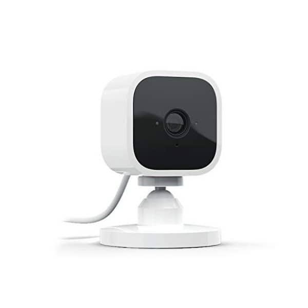 Blink Mini – kompakte Überwachungskamera für den Innenbereich - Funktioniert mit Amazon Alexa - Verbindet sich über WLAN 2,4 GHz