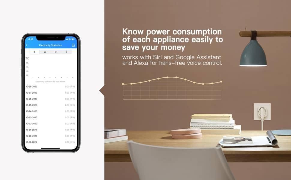 HomeKit kompatible Steckdose von Koogeek der zweiten Generation kann Energieverbrauch messen