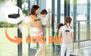 Nuki Box - Haustüröffner für Mehrfamilienhäuser